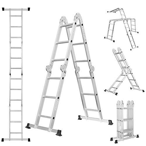 Escalera de Aluminio 3,5M Multifuncional