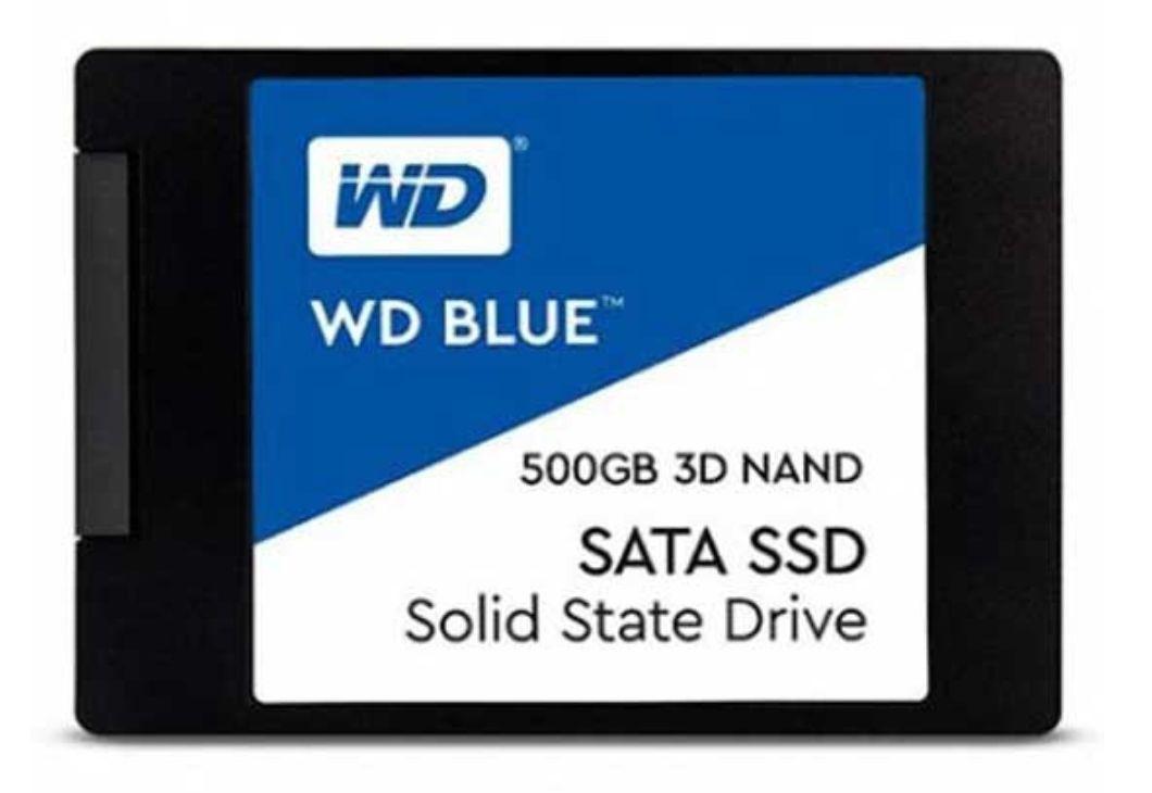 WD 2.5 SSD 500GB Sata3 Blue 3D NAND
