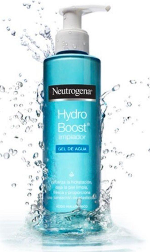 Neutrogena Hydro Boost Limpiador Gel de Agua, Elimina las Impurezas y el Maquillaje, 200 ml