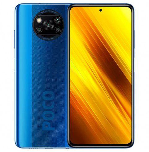 "Poco X3 NFC (Pantalla de 6,67"" FHD+, DotDisplay, 6GB+128GB, Cámara cuádruple de 64MP, Snapdragon 732G, 5160mAh (azul cobalto)"