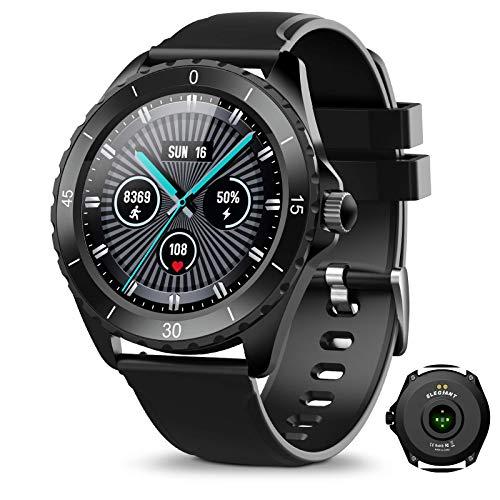 SmartWatch, Reloj Inteligente IP68 con Pantalla Táctil de 1.3'',Unisex, Actividad Inteligente para el Deporte, Monitor de Actividades,