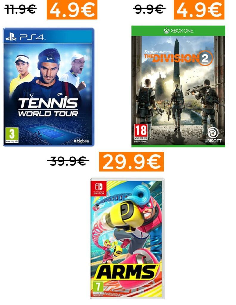 Bajada de precio en videojuegos en MediaMarkt (Unidades Limitadas)