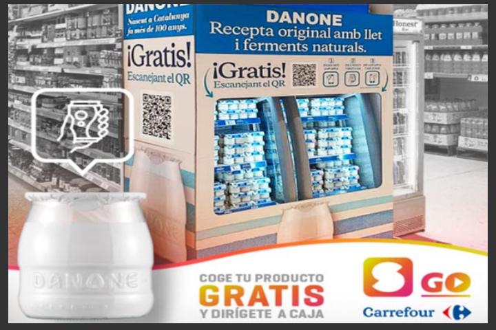Yogurt Original Danone 2 ud. SAMPLIA