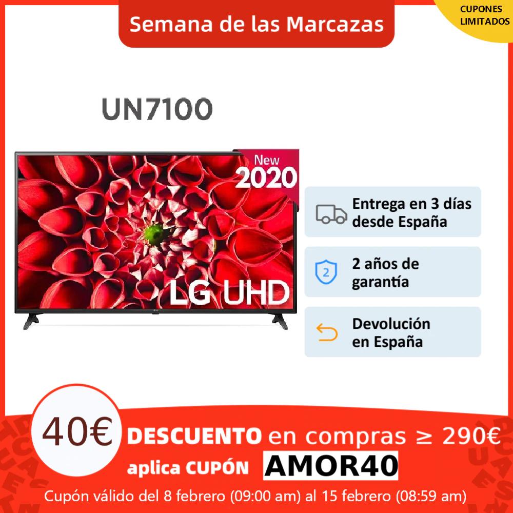 "LG Serie 7, UN7300, Smart TV 43"" , UHD, 4K Ultra HD, LED, Sonido Ultra Sonrround"