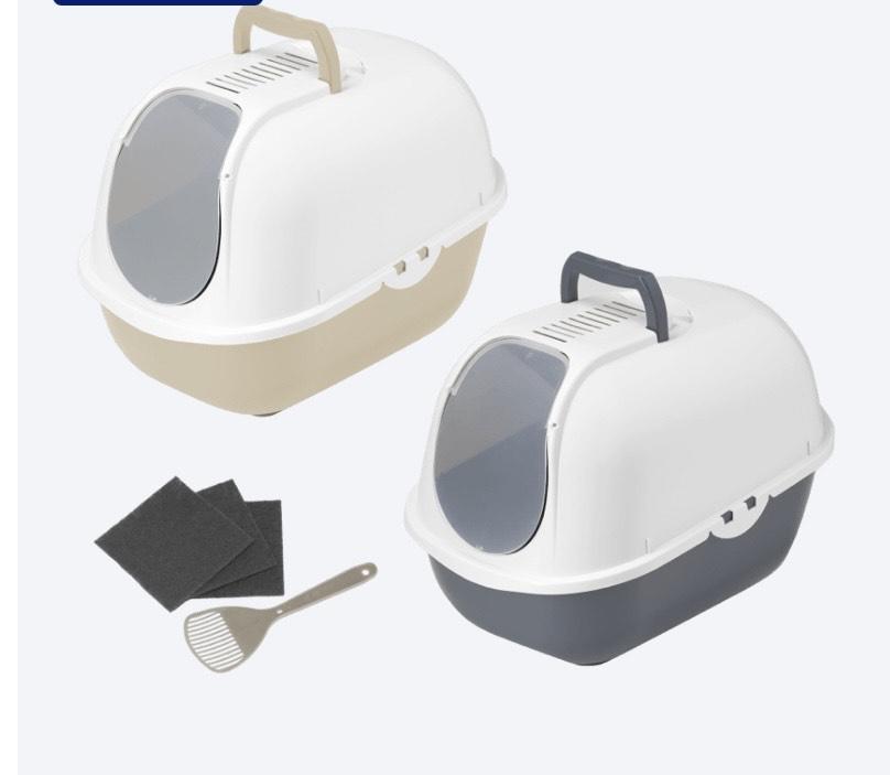 Arenero para mascotas con pala y 3 filtros en Aldi