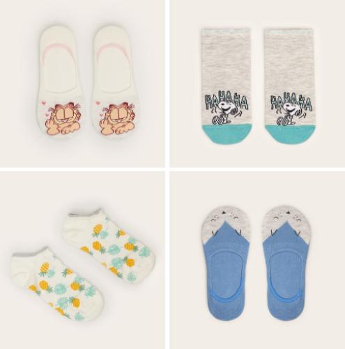 Women'secret calcetines cortos solo 0.8€