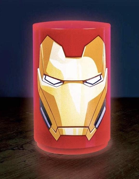 Paladone Mini Iron Man - Lámpara con Sonido