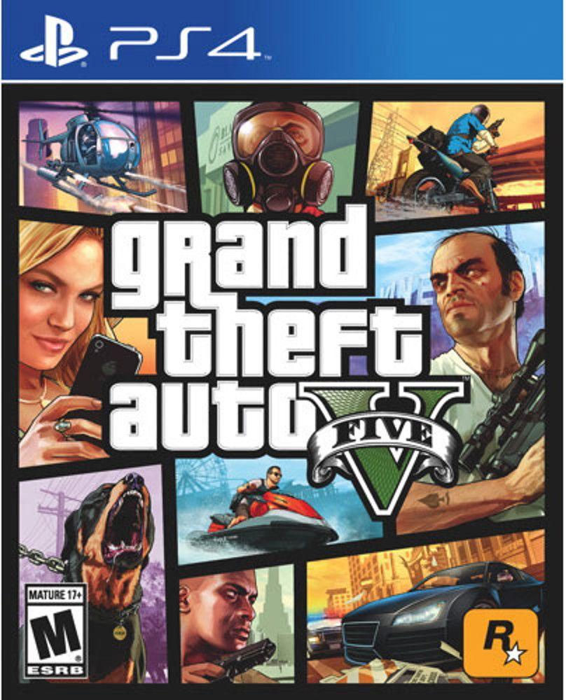 GTA 5 PS4 PSN (Digital)