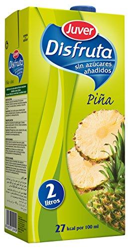 Juver - Disfruta - Bebida Refrescante con Zumo de Piña 12 litros