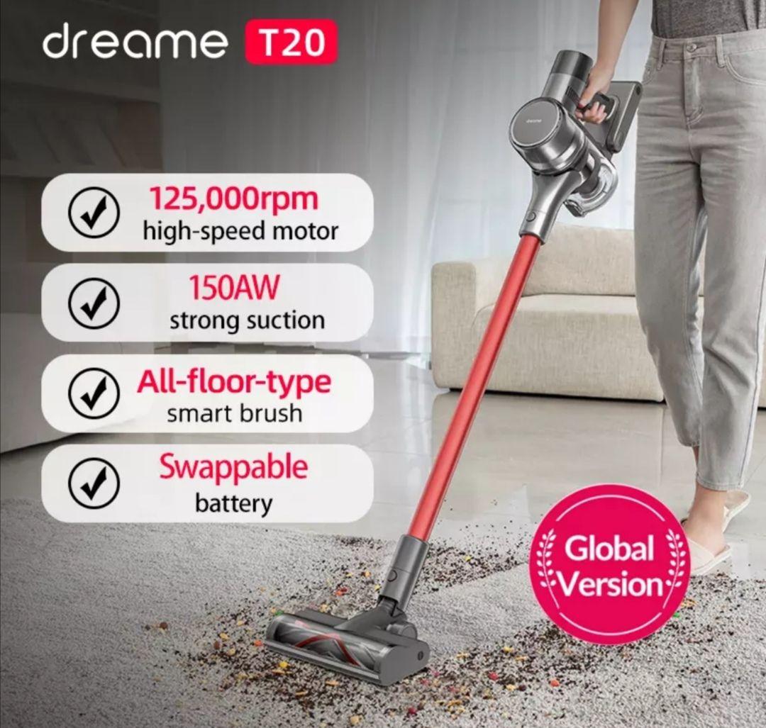 Dreame-aspiradora inalámbrica de mano T20,