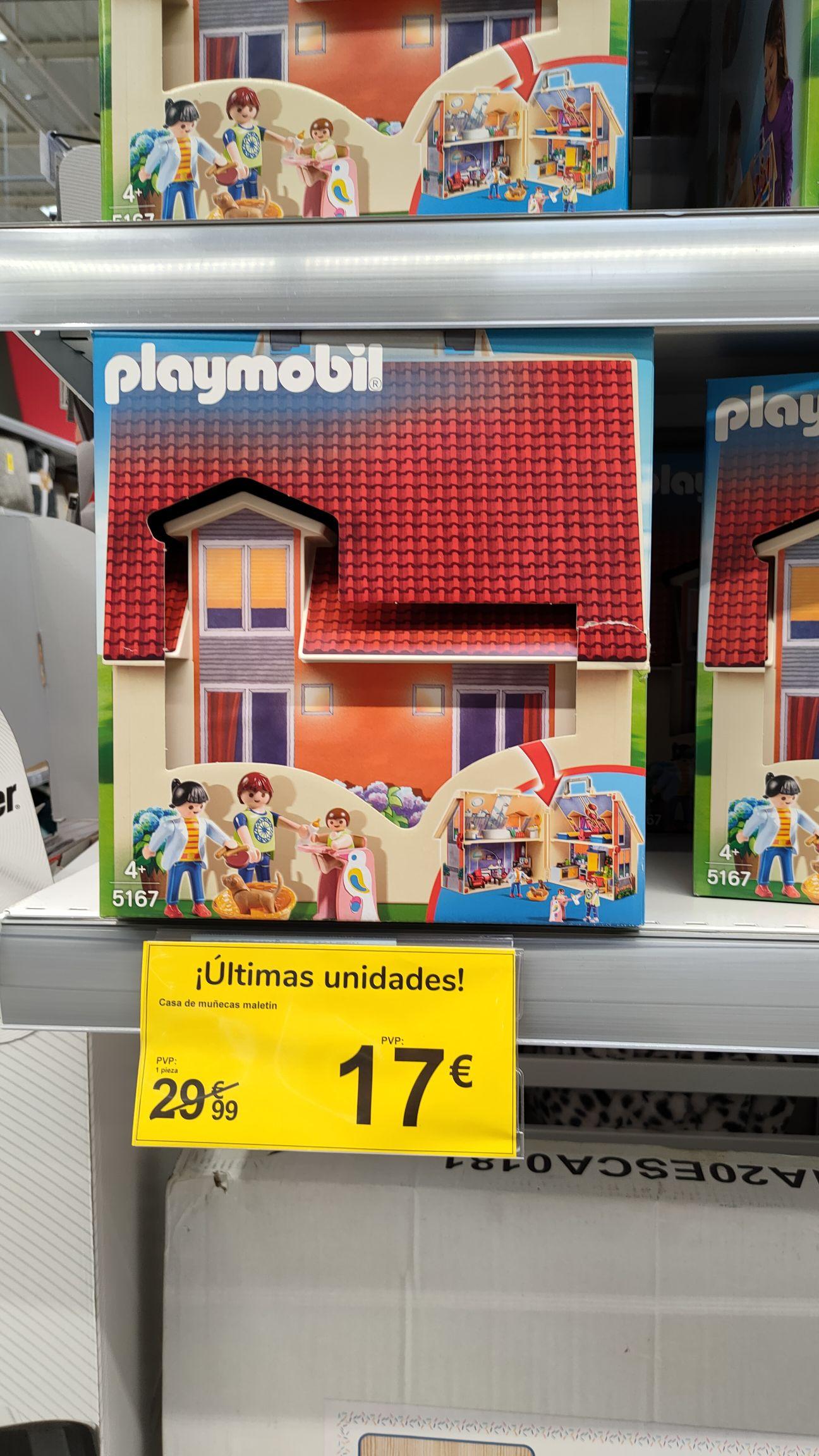 Casa de muñecas Playmobil (Carrefour Valle Real)