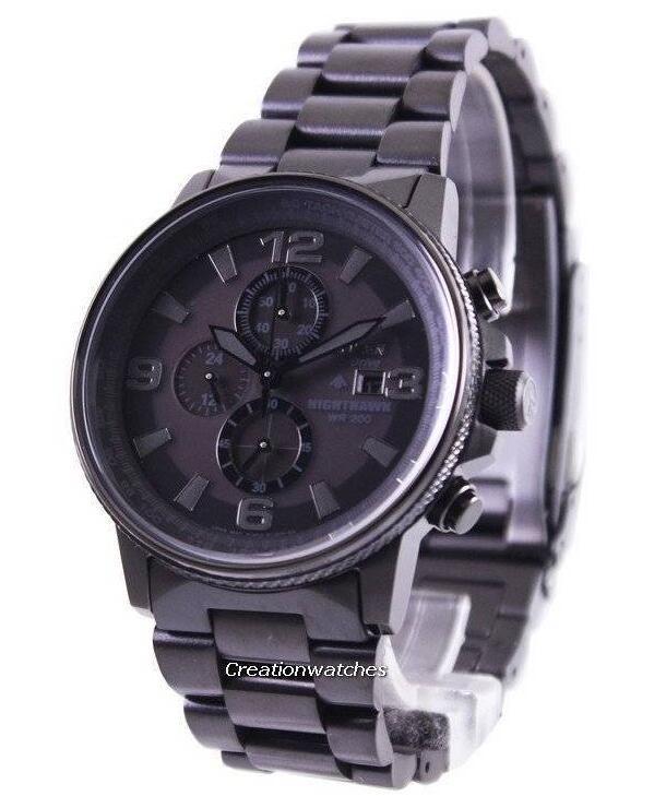 Reloj para hombre Citizen Eco-Drive Nighthawk Chronograph CA0295-58E