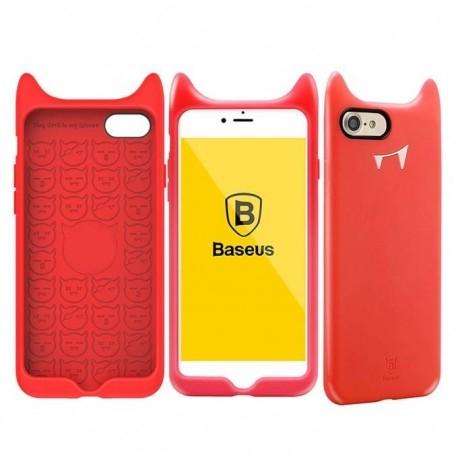 Funda de silicona para iPhone 7 Baseus Devil Baby
