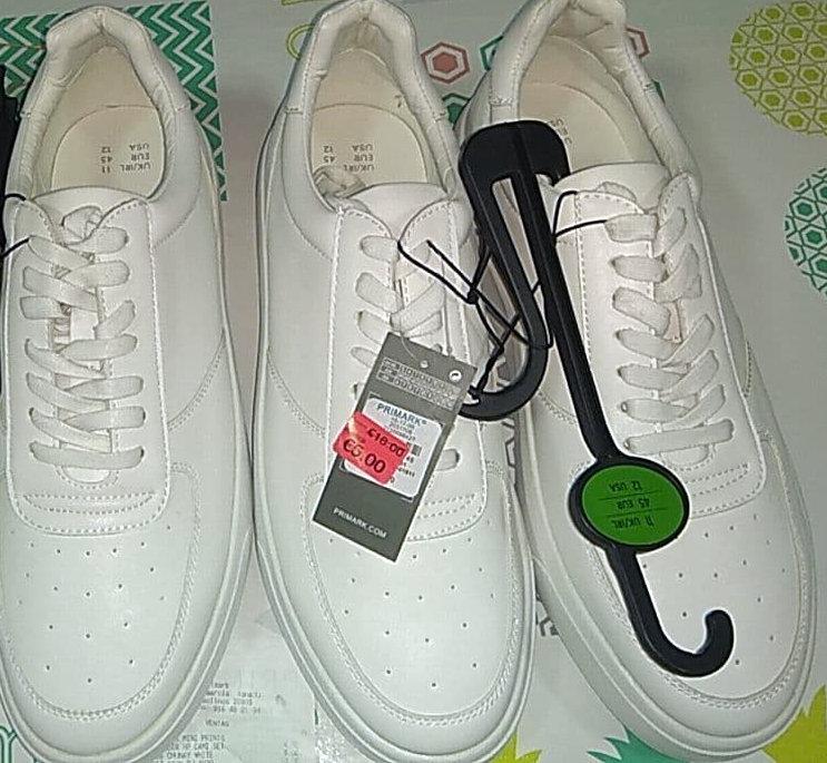 Zapatillas bajas blancas a 5€ en Primark Xanadú