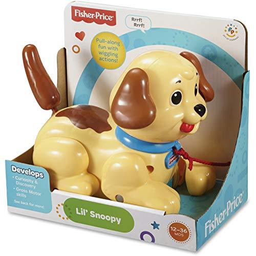 Fisher-Price Pequeño Snoopy, montón de acciones divertidas