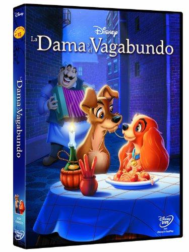 La dama y el vagabundo DVD