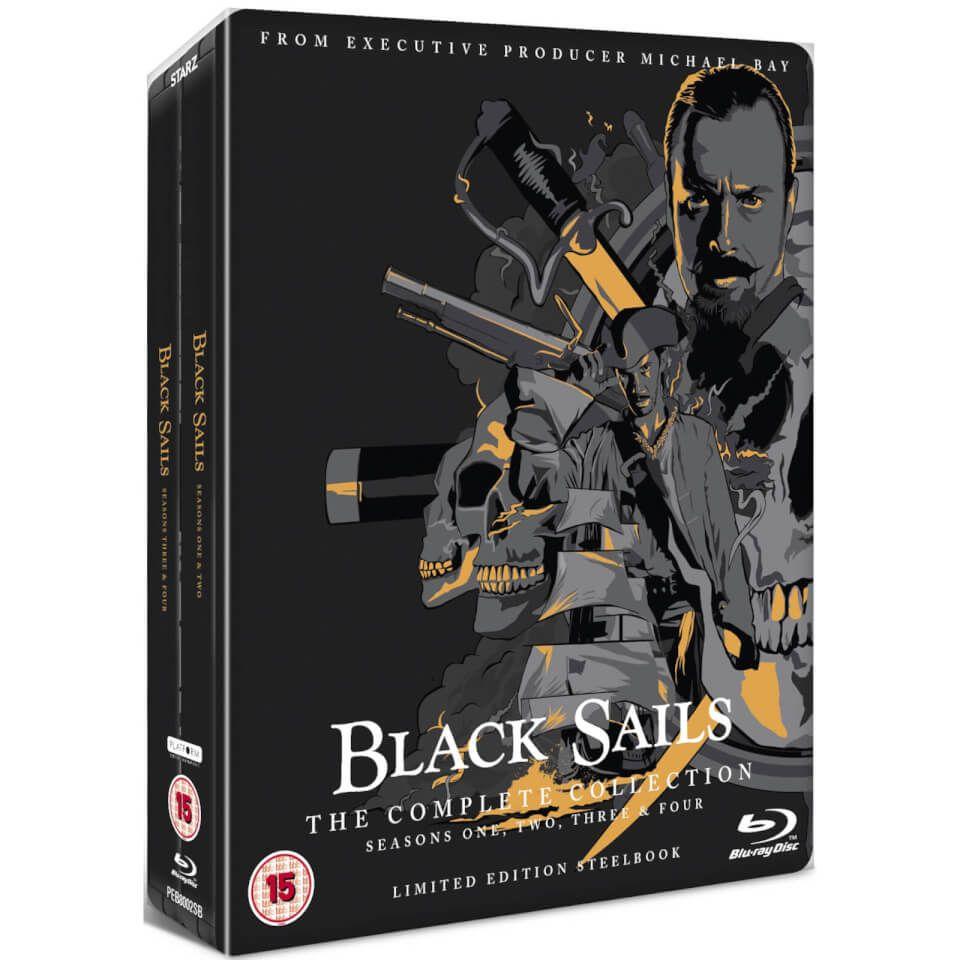 Black Sails: Colección Completa - Steelbook Ed. Limitada