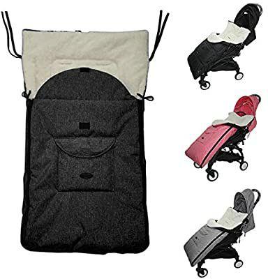 Saco de dormir de bebe universal para silla de paseo