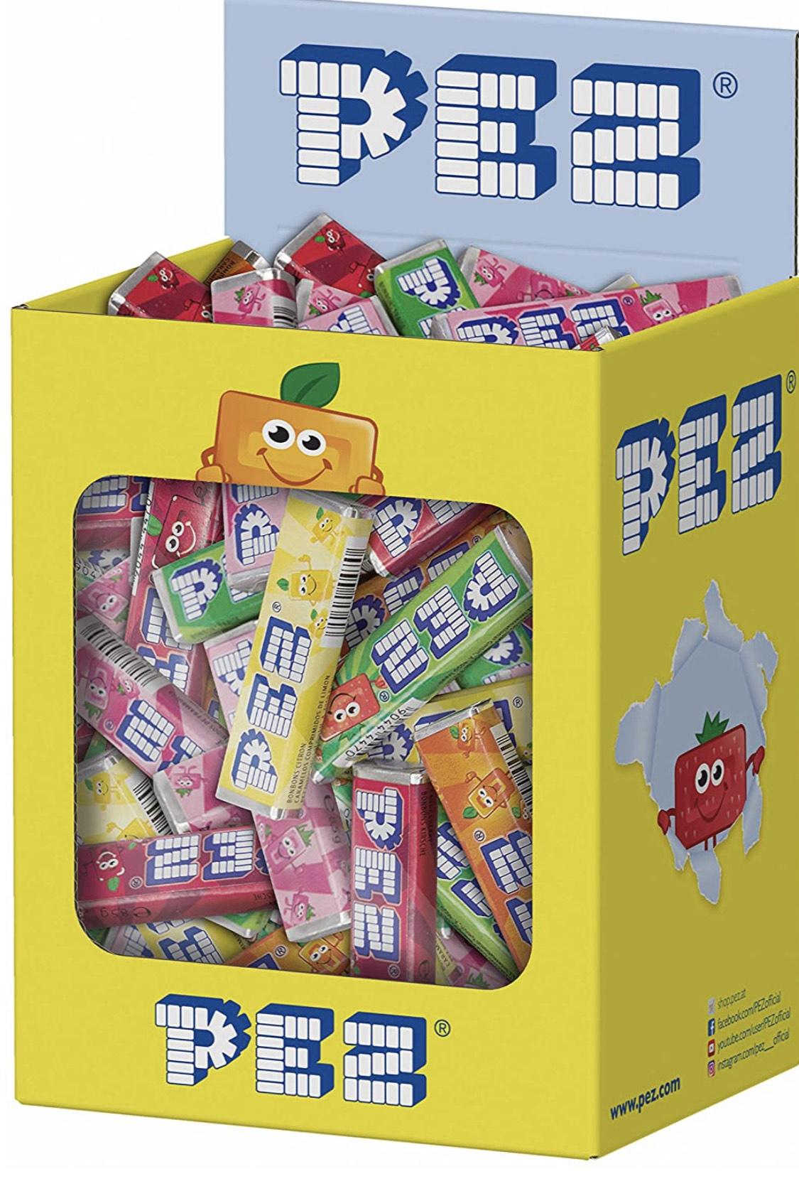 100 recargas caramelos PEZ