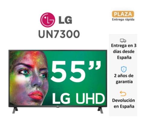 """Smart TV 55"""" LG 55UN7300 desde España"""