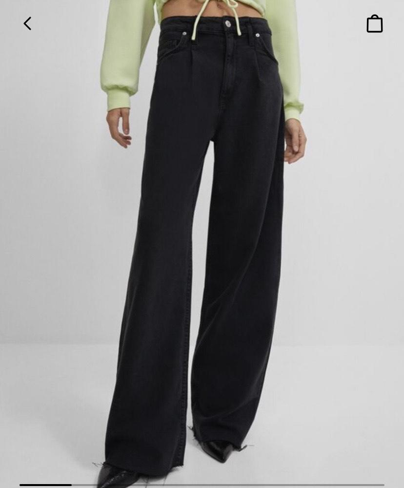 Jeans wide leg talla 38