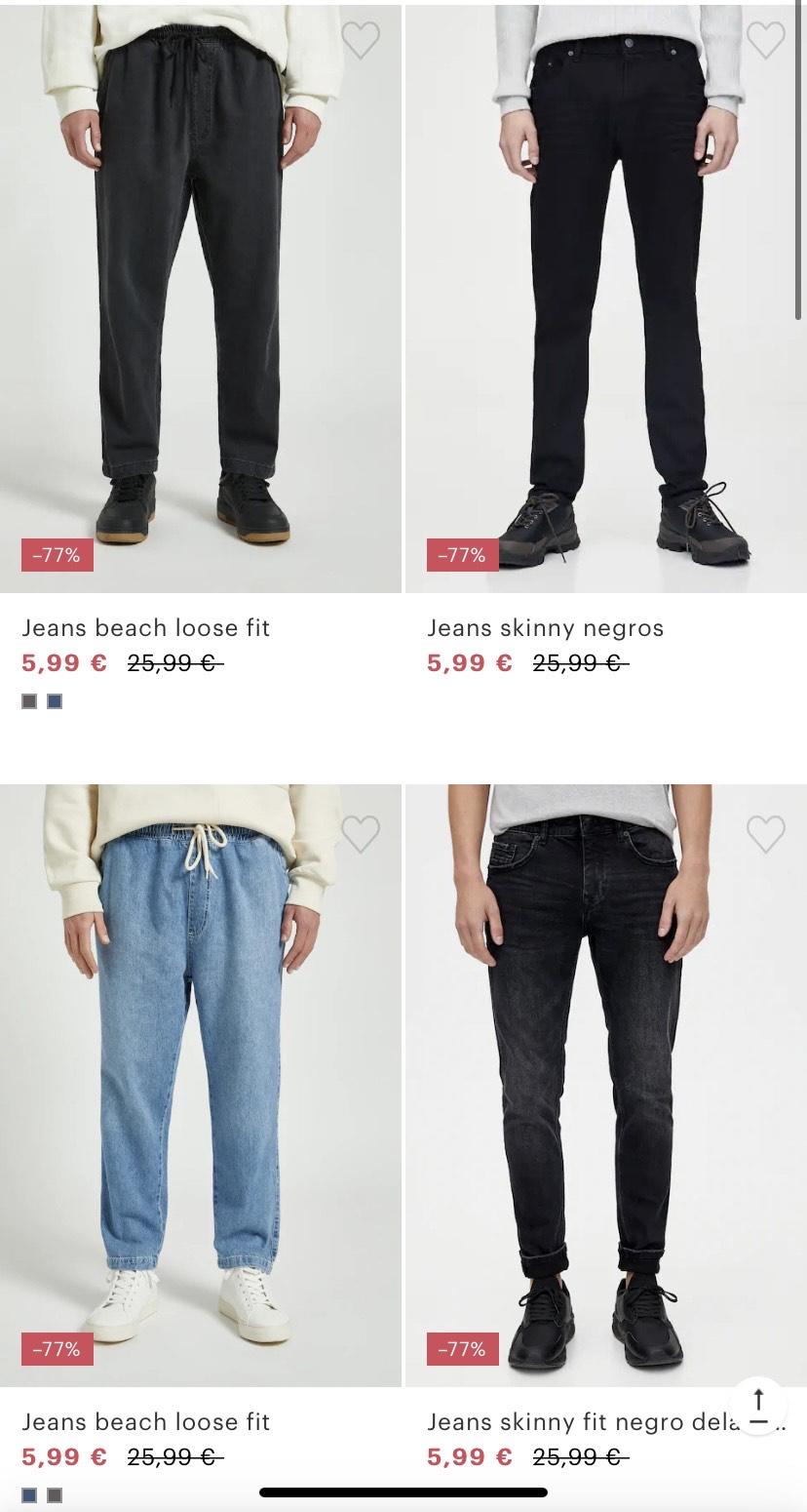 Pantalones hombre 5,99€