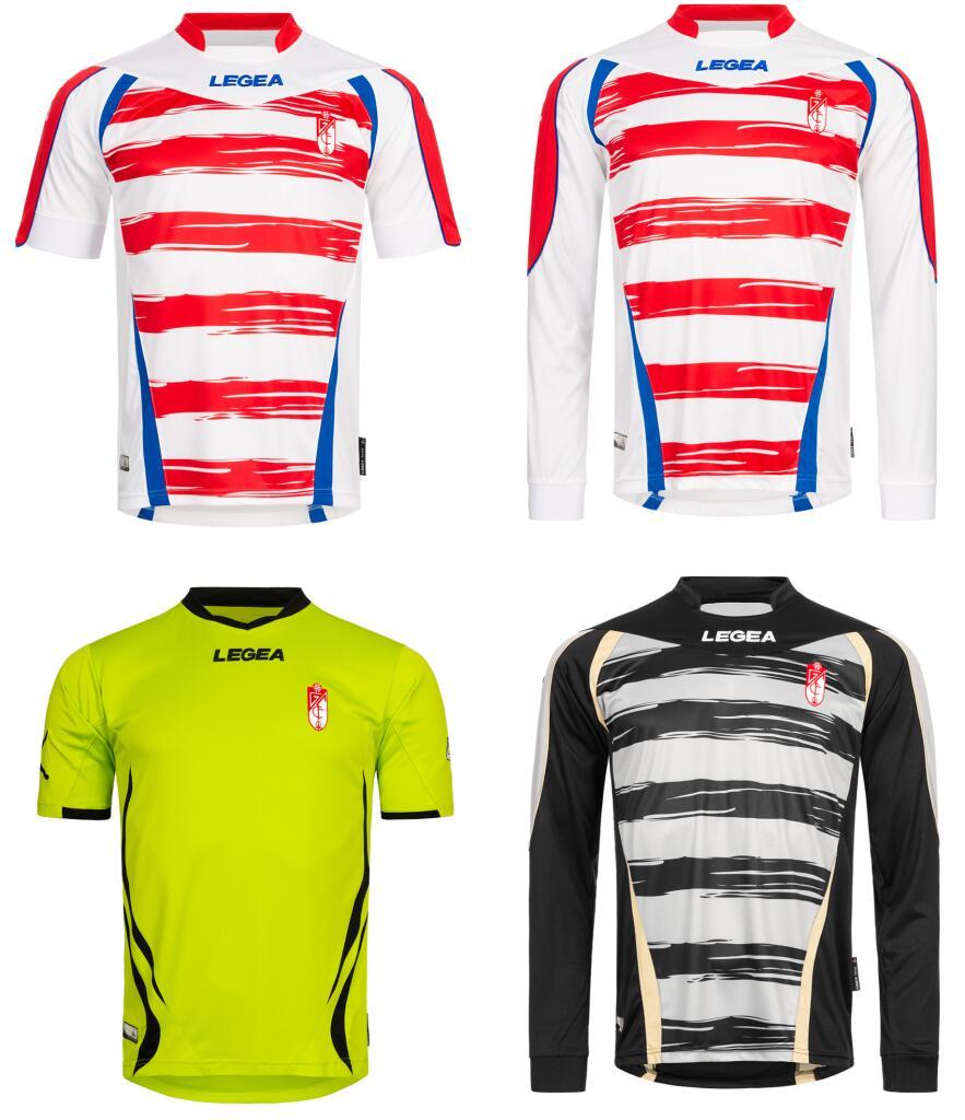 Camiseta Granada CF Legea primera y segunda equipación [Mangas largas y cortas]