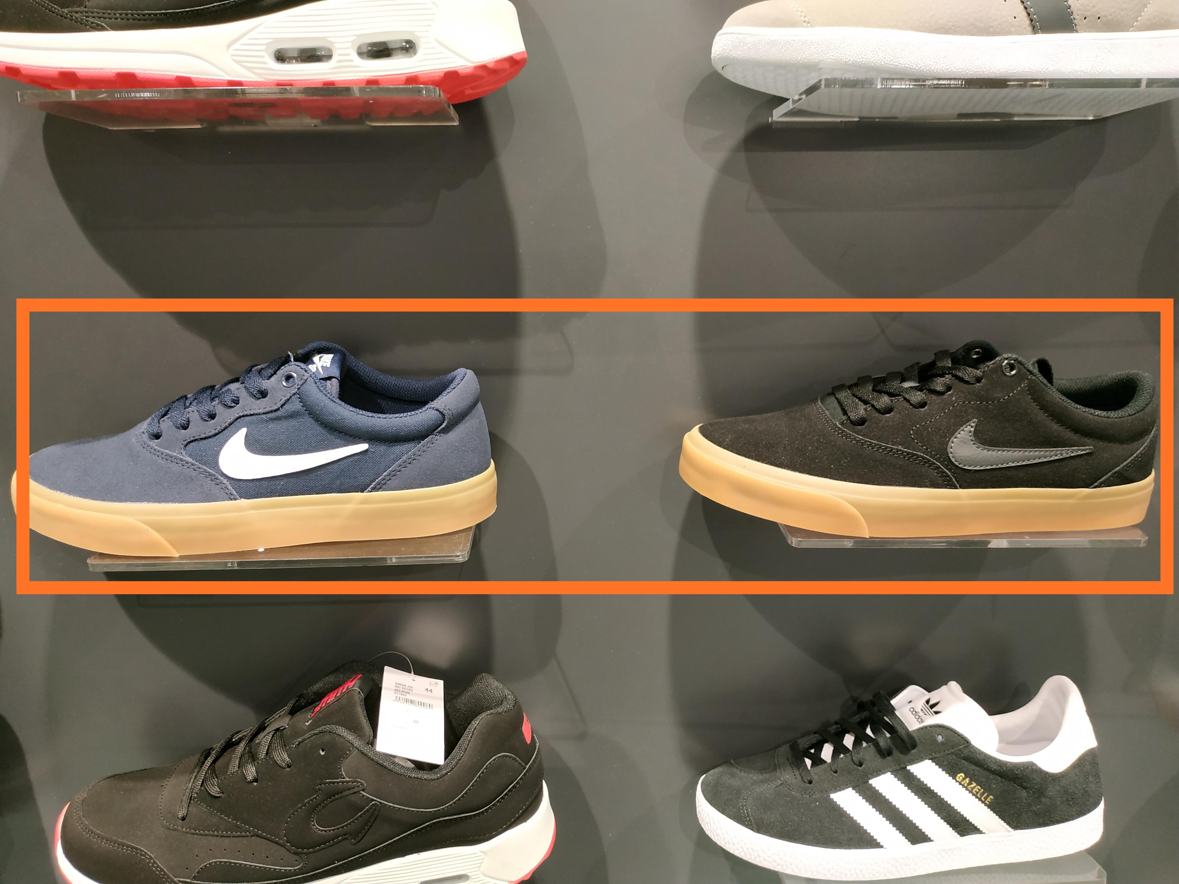 Nike SB Charge, talla 40 Azul y Negro