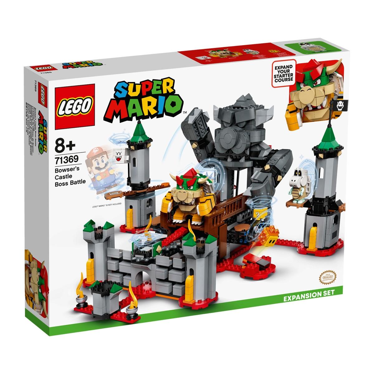 LEGO Batalla Final en el Castillo de Bowser Lego Super Mario