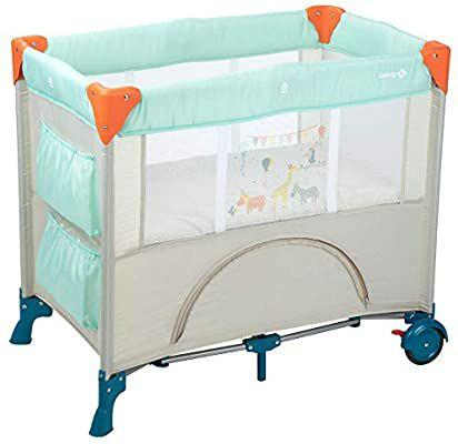 Safety 1st Mini Dreams Parque cuna bebé, Cuna de viaje plegable, Cuna portátil y compacta, con bolsa de viaje