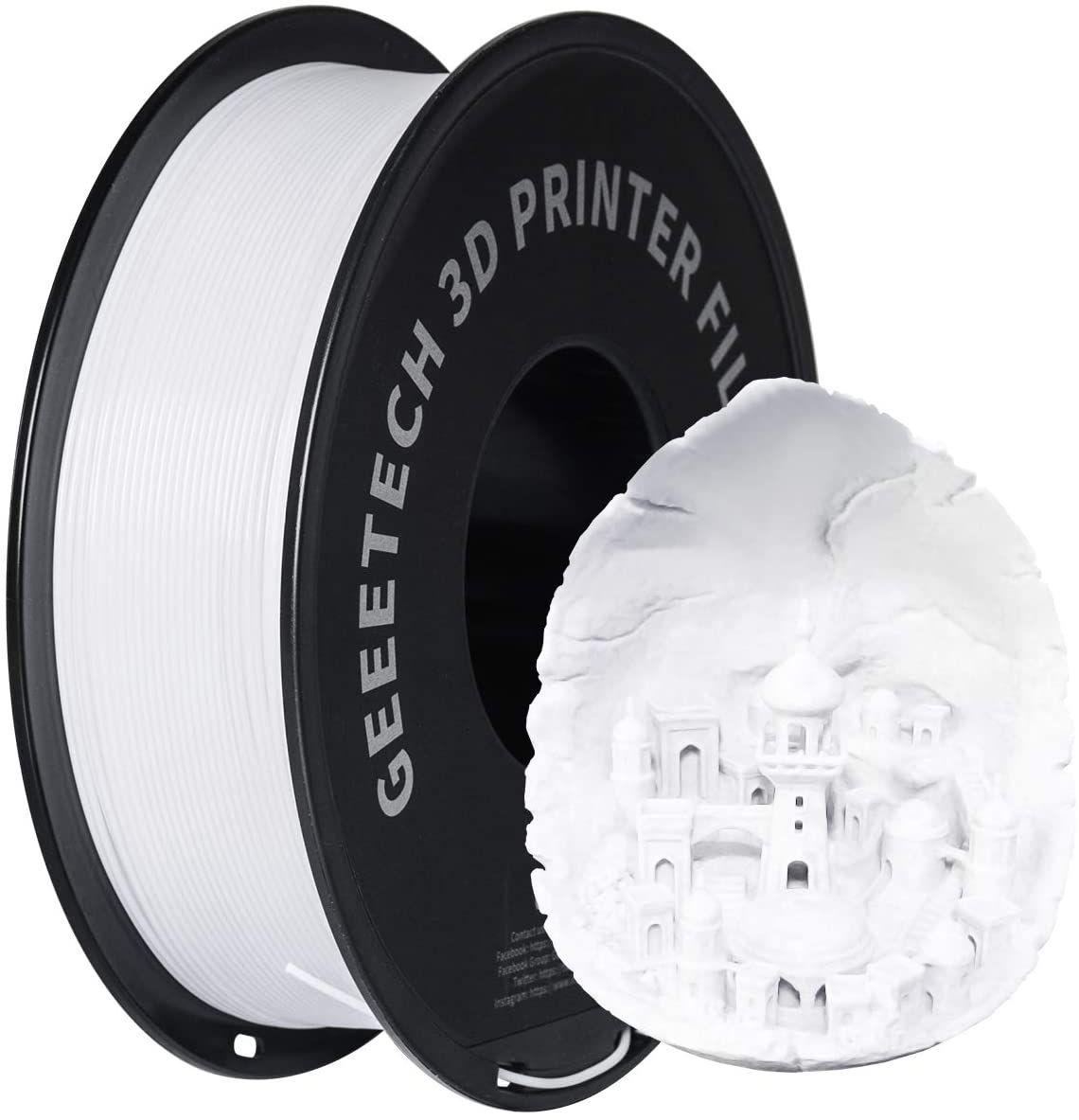 GEEETECH Filamento PETG 1.75mm 1kg en 4 colores. Marca Top a precio de marca China barata
