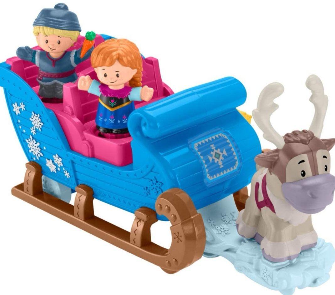 Fisher-Price Little People Disney Frozen El trineo de Kristoff (También en Amazon)