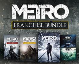 SAGA METRO (Steam): Metro 2033 o Last Light por 3,99€ o Franquicia completa por 32,26€