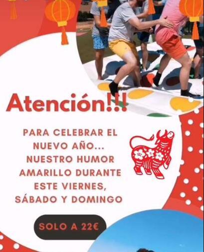 Circuito de Humor Amarillo en Madrid en noname_sport