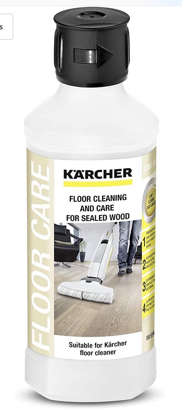 Kärcher Limpiador de suelos de madera barnizados 500ml
