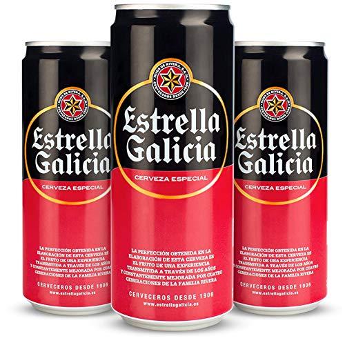 48 Latas cerveza Estrella Galicia solo 20€