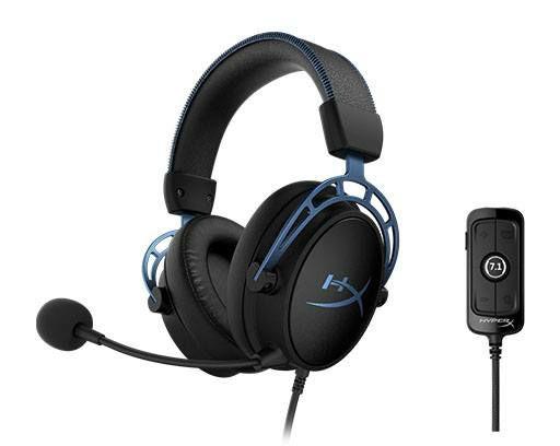 Cascos Gaming HyperX Cloud Alpha S (Azul)