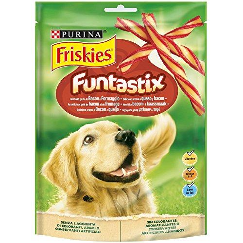 Snack para perros Purina Friskies Funtastix Pack 6x175g