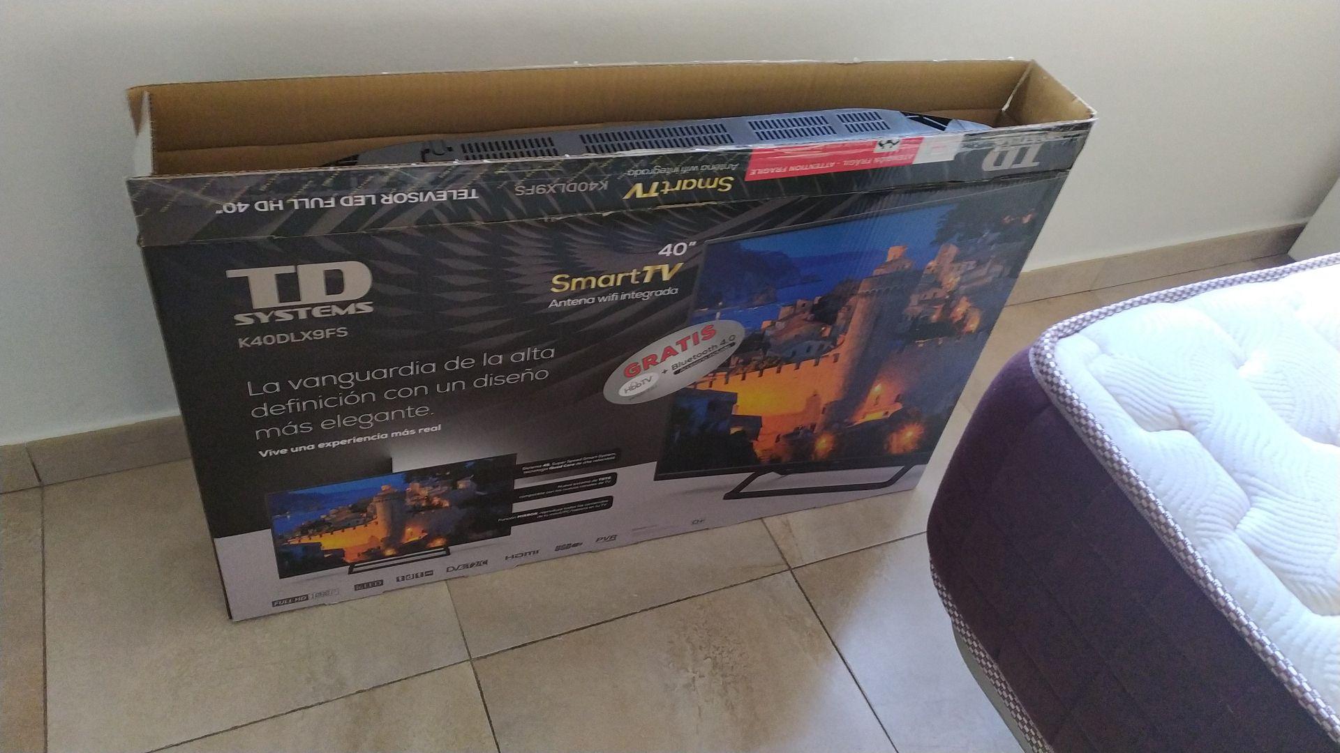Televisión td system 40 pulgadas led full HD