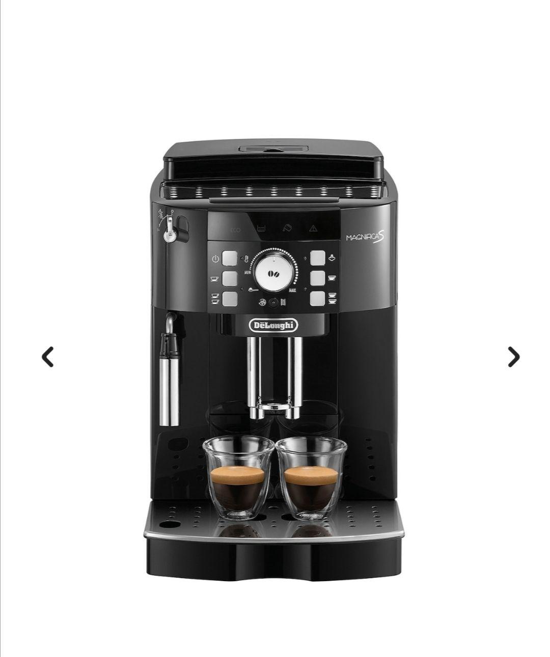 Cafetera superautomática De'Longhi Magnífica con sistema capuccino