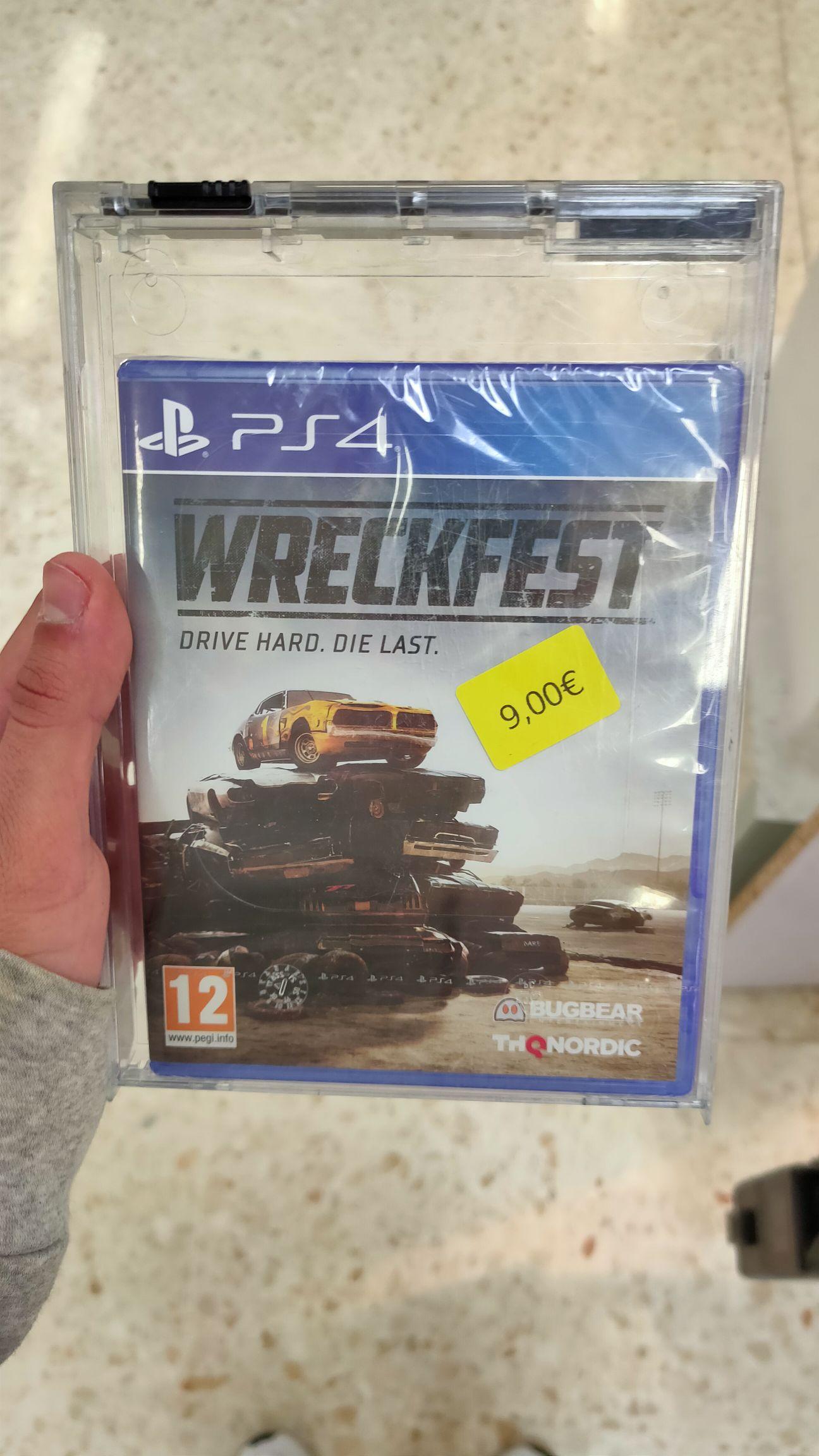 Wreckfest PS4 (Carrefour Norte, Jerez de la Fra.)