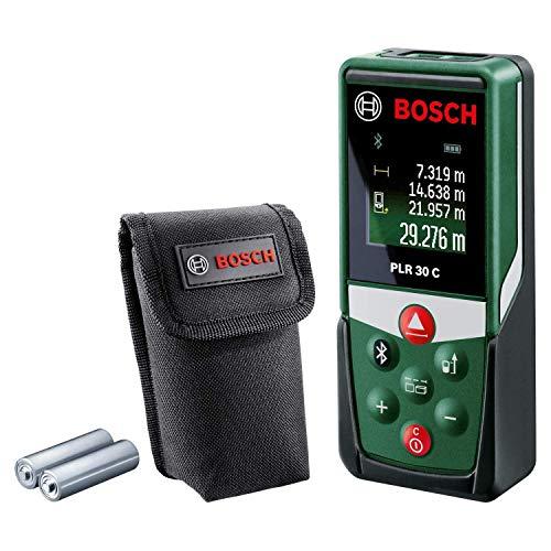 Bosch medidor láser PLR 30 C BLUETOOTH