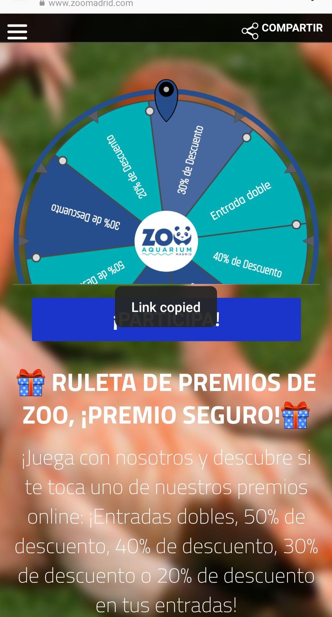 ZOO Aquarium Madrid entradas dobles y descuentos