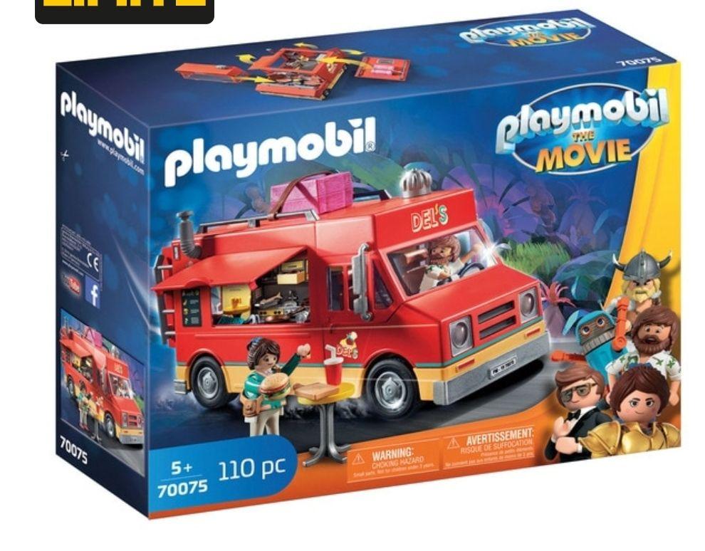 PlayMobil The Movie Food Truck Del 110 piezas
