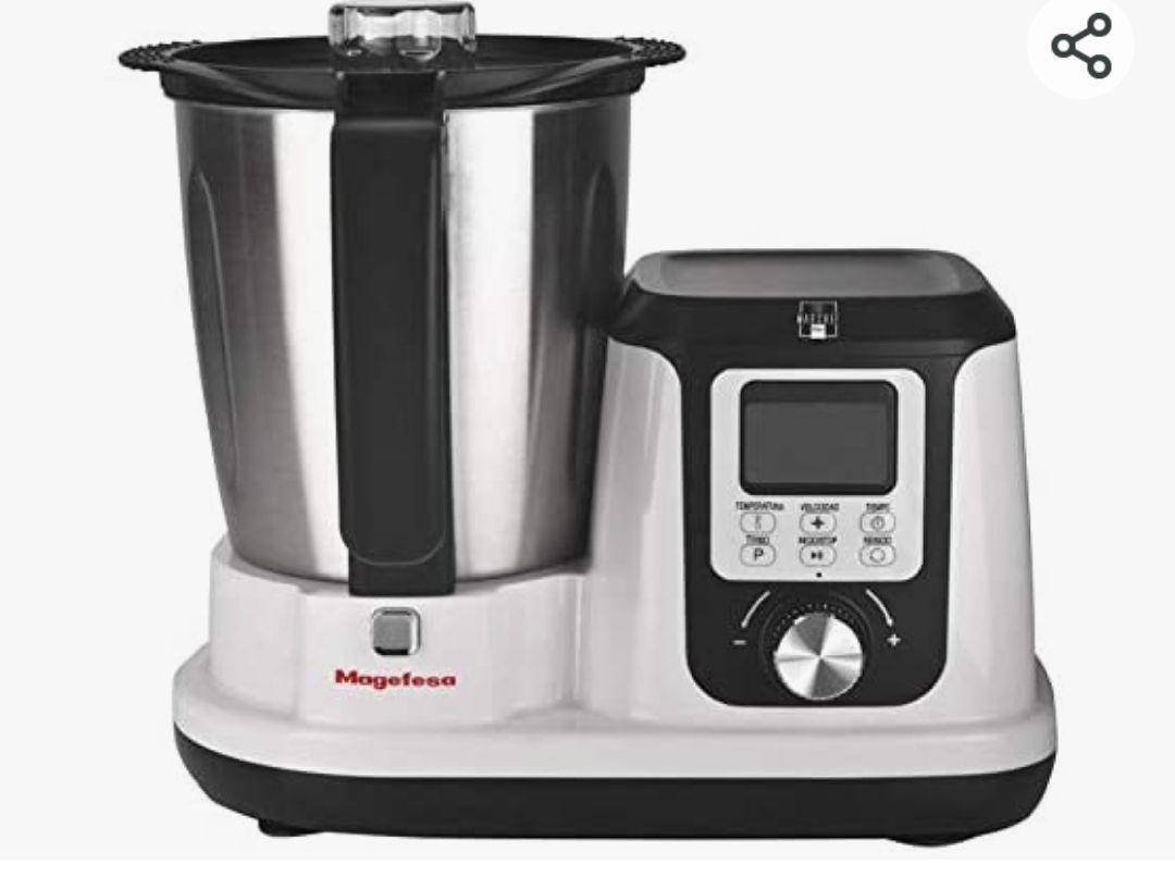 02RO4540000-Robot de Cocina Modelo MAGCHEF White Plus
