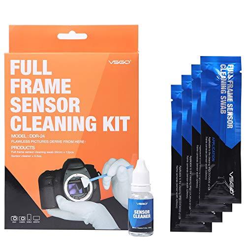 Limpiador de sensores de cámaras Full Frame - Swab DDR-24 Kit - (Box of 12 X 24mm Swab + 15ml Sensor Cleaner)