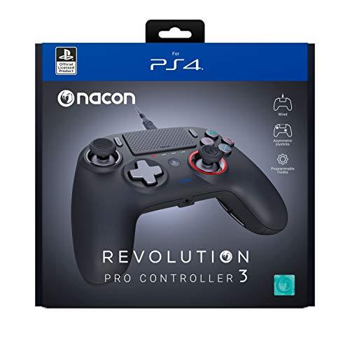 Nacon Revolution Pro Controller 3 para PS4 Negro