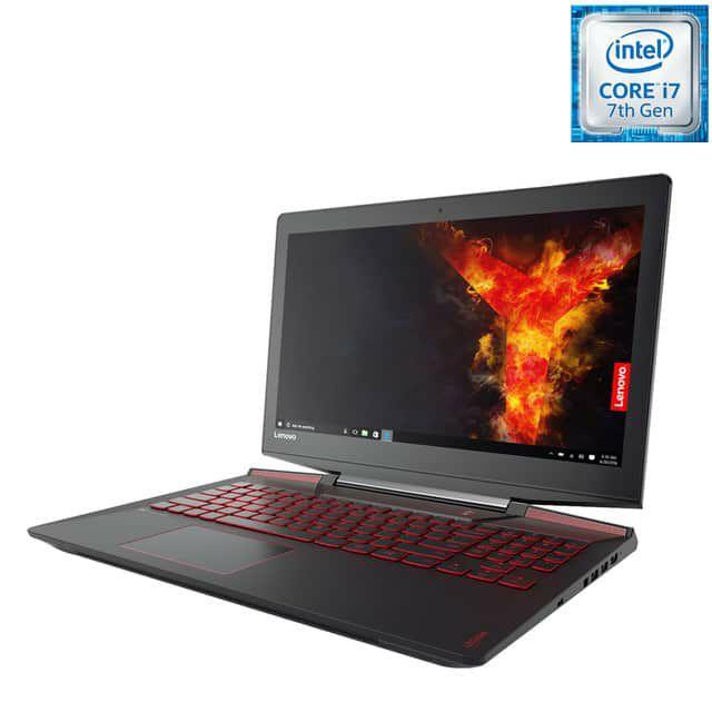Portátil Gaming Lenovo Legion Y720, i7, 16 GB, 128 GB SSD, 1 TB, GTX 1060 6