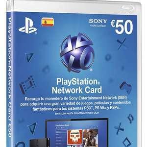 Tarjeta de 50€ PlayStation Store (AlCampo Alcobendas)