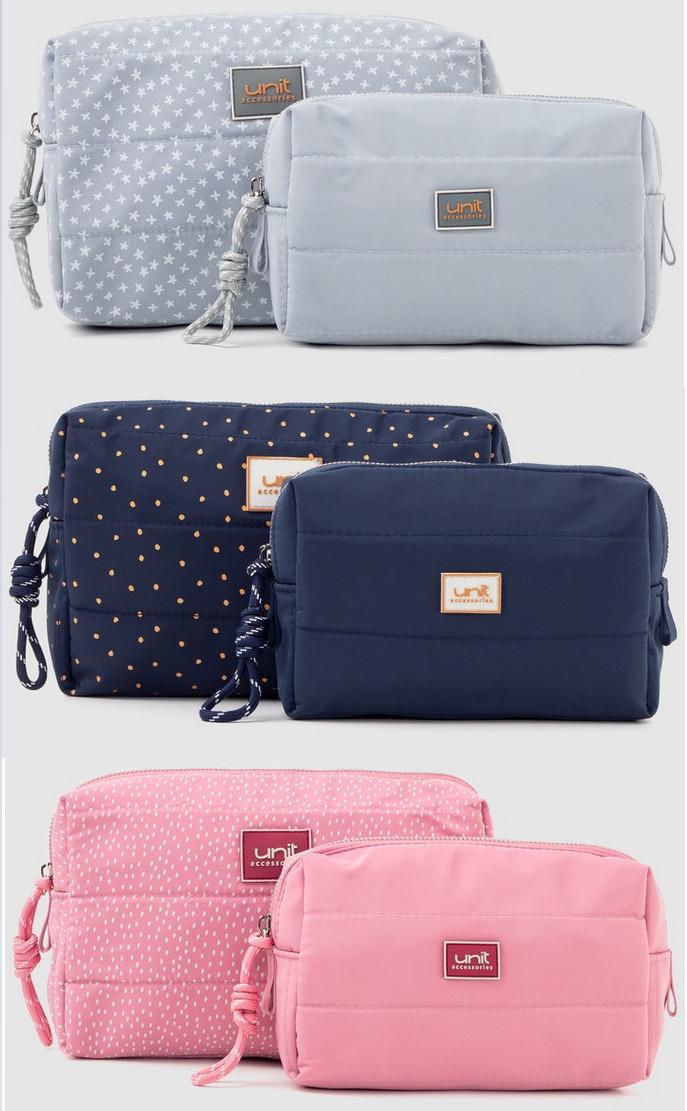 Pack de 2 neceseres en varios colores por sólo 6,99€